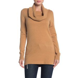 French Connection Soft Cowl Neck Tunic Sweater SM